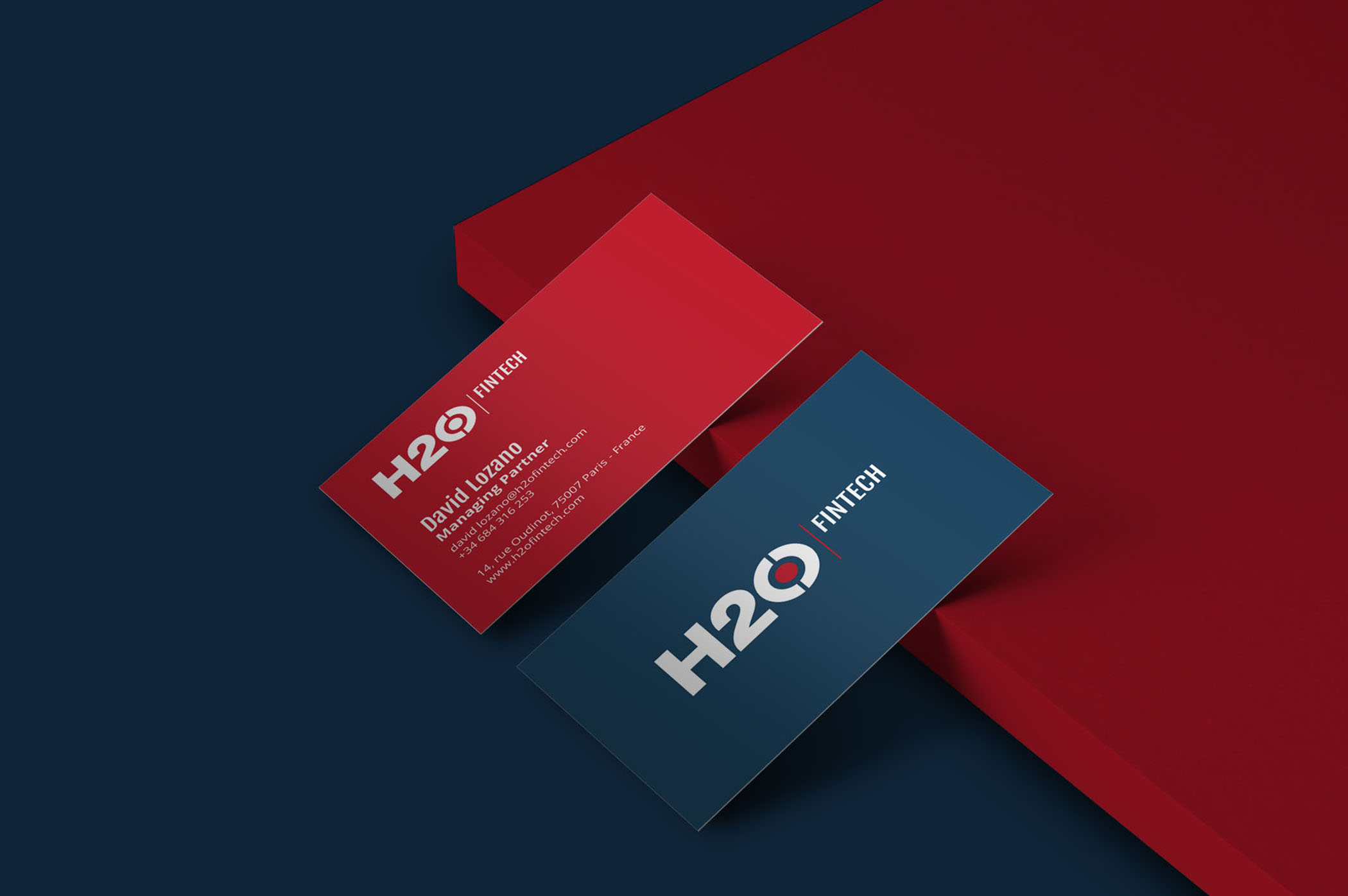H2O Fintech<h5>Brand Identity / Web<h5>