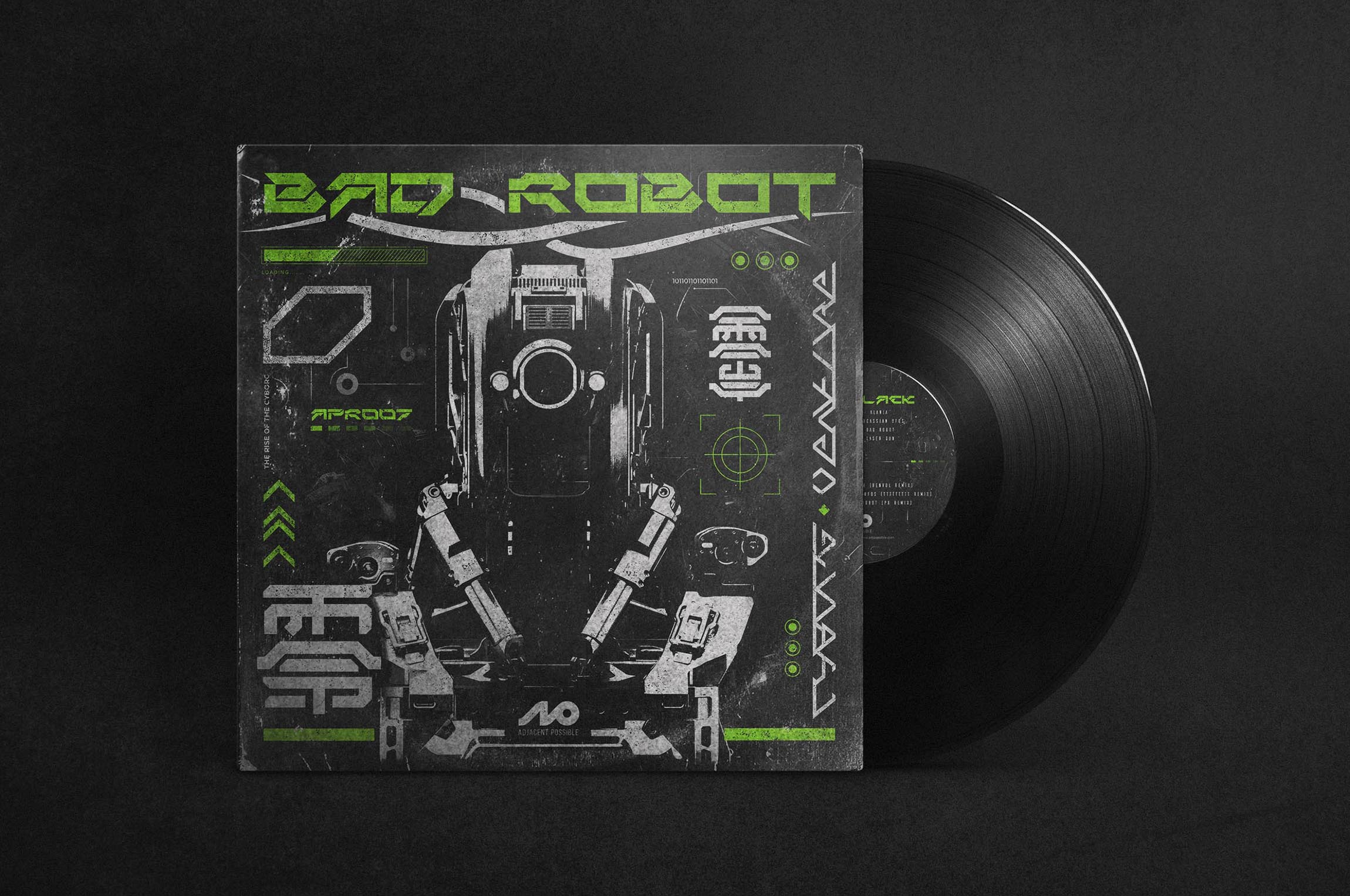 Bad Robot<h5>Illustration / Print<h5>
